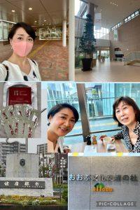 健康都市を掲げる愛知県大府市まで足をのばして2014年7月に開館した「おおぶ文化交流の杜」を訪れました。